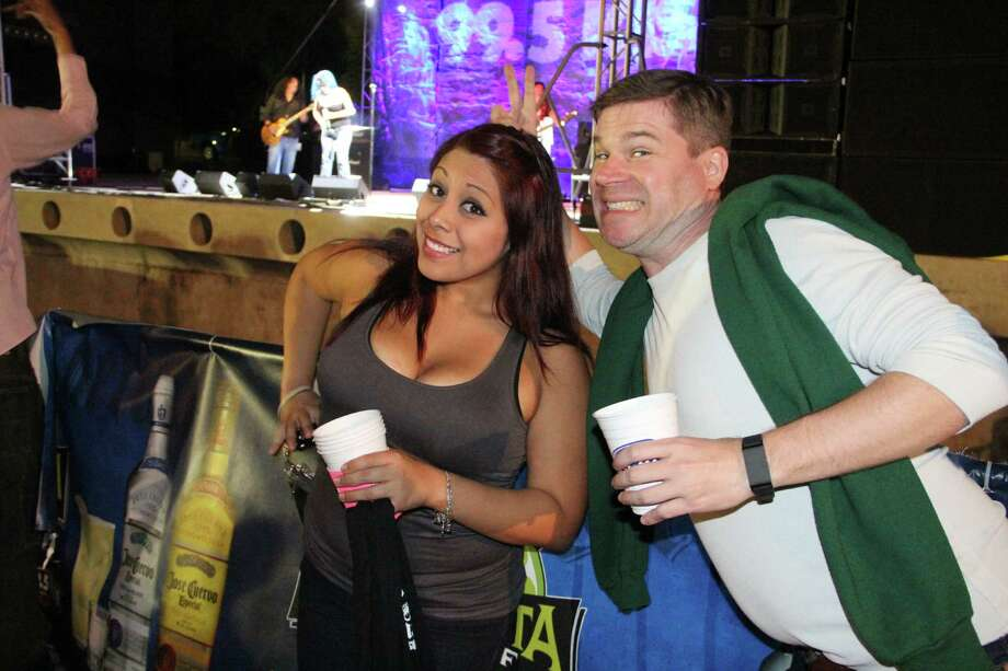 No amount of rain can keep San Antonians from a good margarita event. Thousands showed up to this year's 32nd Annual Margarita Pour-Off for frosty drinks and hard rock. Photo: By Jacob Beltran, For MySA.com