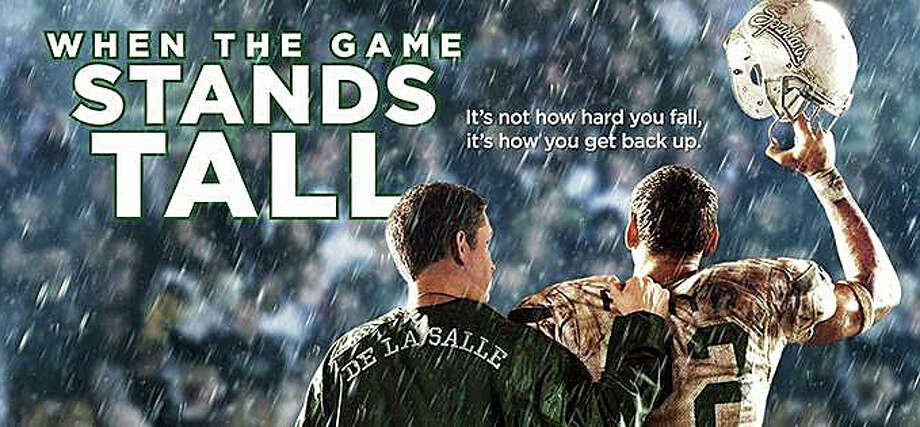 """When the Game Stands Tall"" is a new movie based on the long winning streak by the De La Salle Spartans, a high school football in California, and what happens after that streak is broken. Photo: Contributed Photo / Westport News"