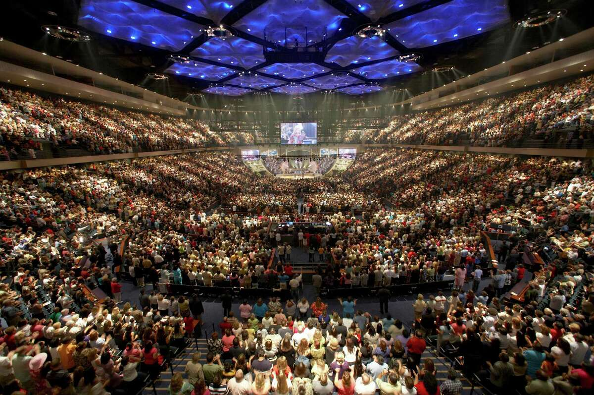 Lakewood Church in Houston started one of the first mega challenges in the U.S.