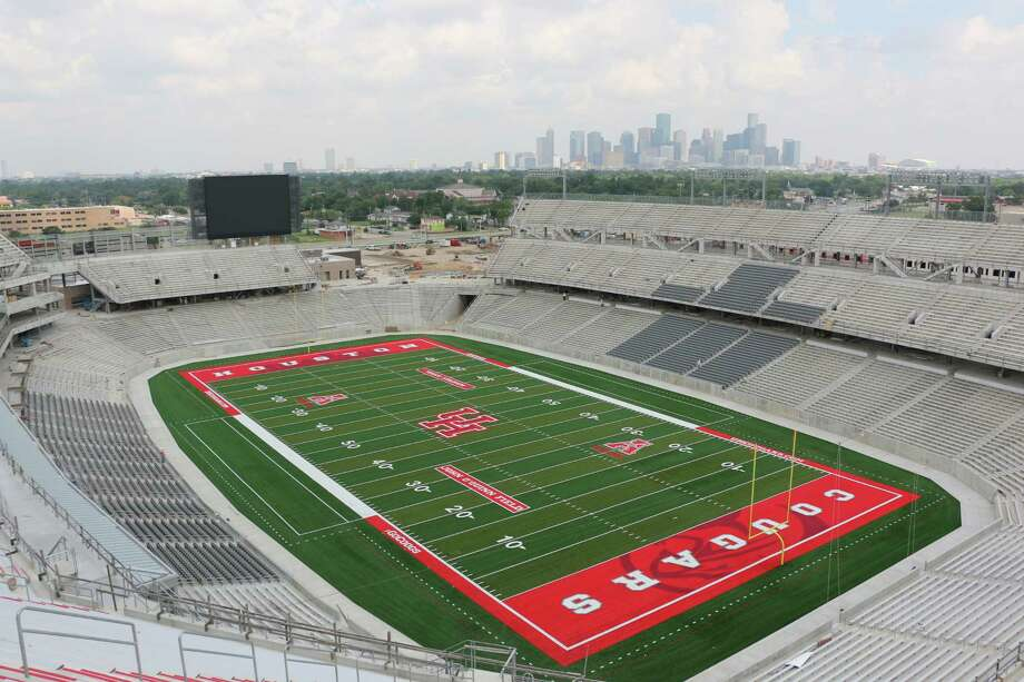 TDECU Stadium houses 40,000 seats, with the option to expand to 60,000 in the future. Seating includes club area, suites, loge boxes, club seats and premium seating, all with numerous benefits. There are specialty areas, plazas, a family-fun area and 160 concession points.