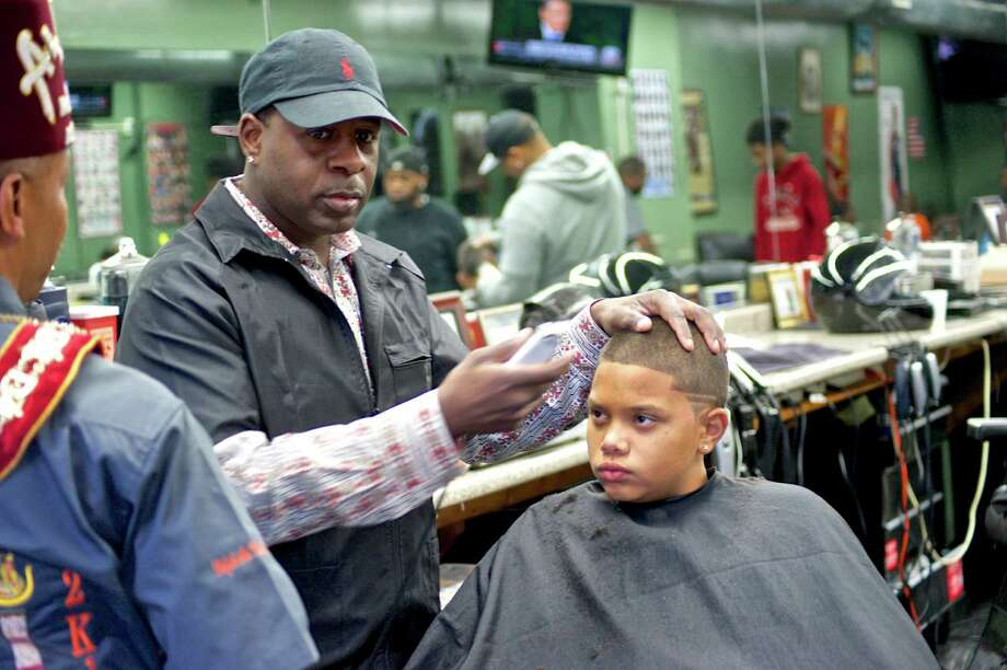Were you Seen at the 'Community Cuts' back-to-school haircut drive, sponsored by the George Biddle Kelley Education Foundation, at Bricks Barber Salon in Albany and the Jay Allen Studio in Colonie on Sunday, Sept. 14, 2014? Photo: Www.lifejourneyscaptured.com By Arlando Richard