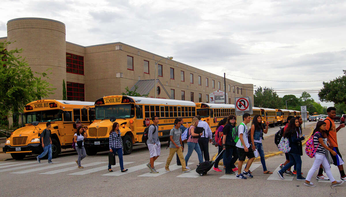 One proposal to rebuild Bellaire High School on the backside of the campus would allow students to remain on-site during construction. However, many in Bellaire don't want the school reoriented.
