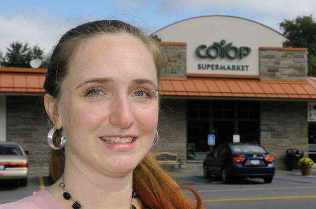 Jennifer Felitte, the new manager of the Niskayuna Co-Op, Friday, Sept. 12, 2014, in Niskayuna, N.Y. (Michael P. Farrell/Times Union) Photo: Michael P. Farrell / 00028537A