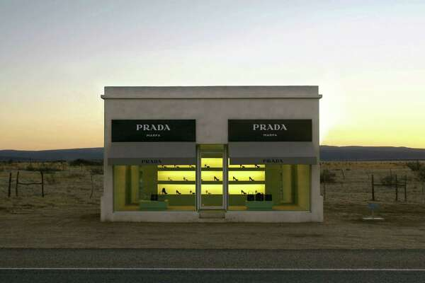 The Prada Marfa, a critique of the luxury goods industry all by its lonesome in West Texas, is saved by a museum designation.