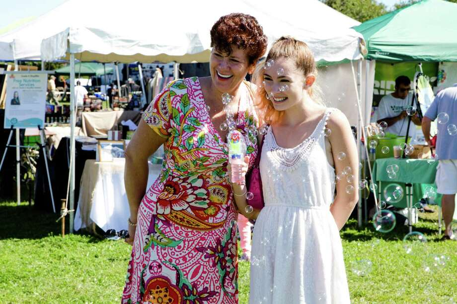 The annual Live Green Connecticut festival took place on the weekend of September 13 and 14, 2014 at Taylor Farm Park in Norwalk. The event featured exhibits and activities geared toward healthy living. Were you SEEN on Sunday? Photo: Catherine Conroy Halstead
