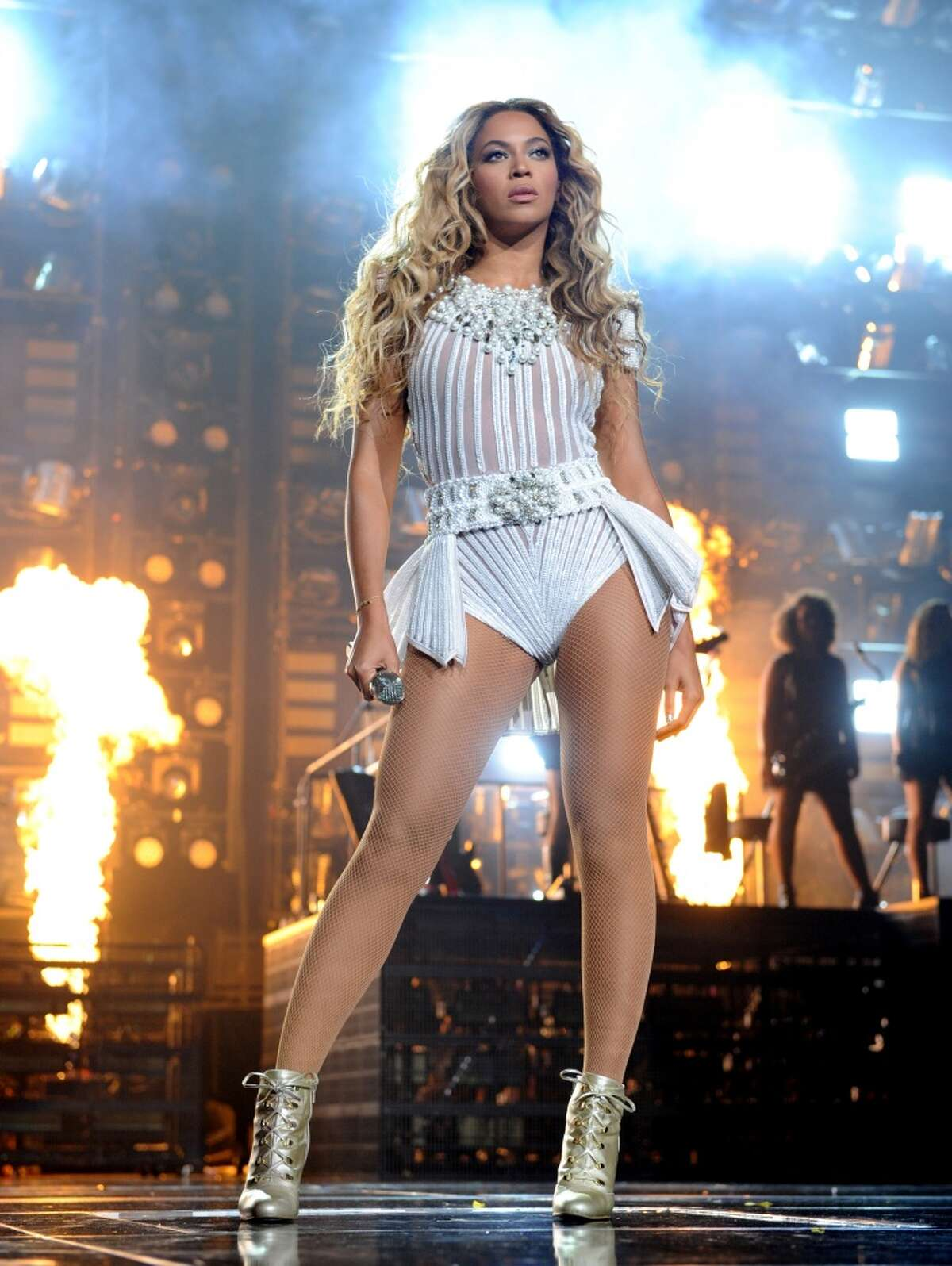 Beyonce Knowles fell onstage during a 2010 concert in Brazil, The Huffington Post reported. She also took a tumble at a 2007 concert.