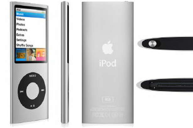 The clickwheel continued with the fourth-generation iPod nano.