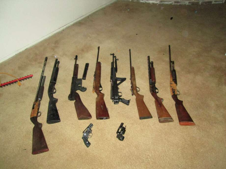 """A new survey says U.S. criminals are going for something smaller for their weapons of choice. """"Small Arms Survey 2014"""" notes 782 seized firearms were linked to gang activity in the Houston area. See which guns proved more popular than others in our gallery. Photo: HCC4"""
