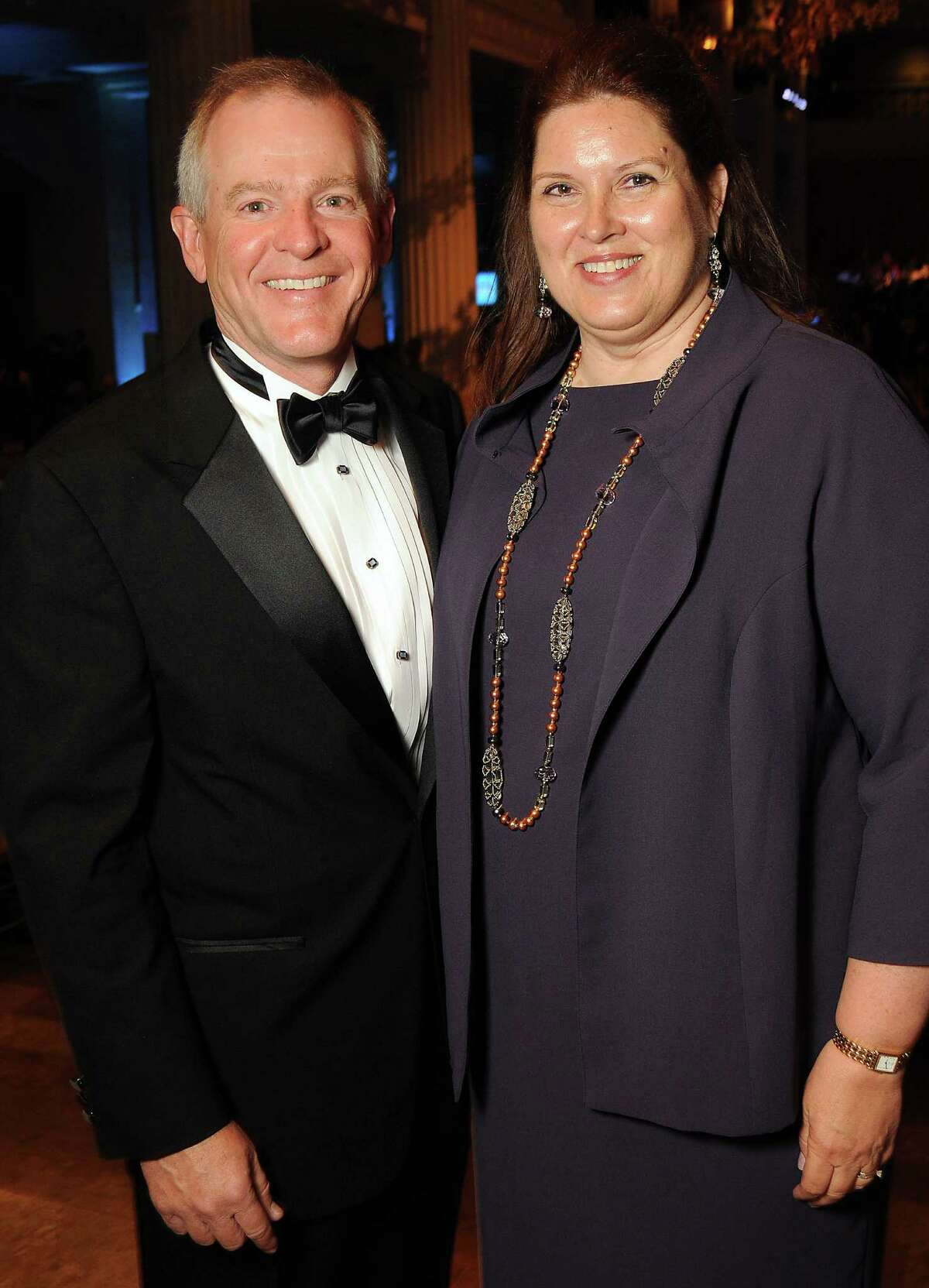Barbara and Pat McCelvey chaired the Houston Symphony's Opening Night Gala at The Corinthian.