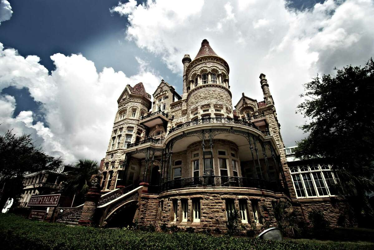 The Bishop's Palace is perhaps one of the most recognizable buildings in Galveston, 60,000 people visit every year.