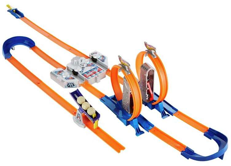 Hot Wheels Total Turbo Takeover >> Mattel Hot Wheels Track Builder Total Turbo Takeover$39.97 Photo-6868526.93721 - Houston Chronicle