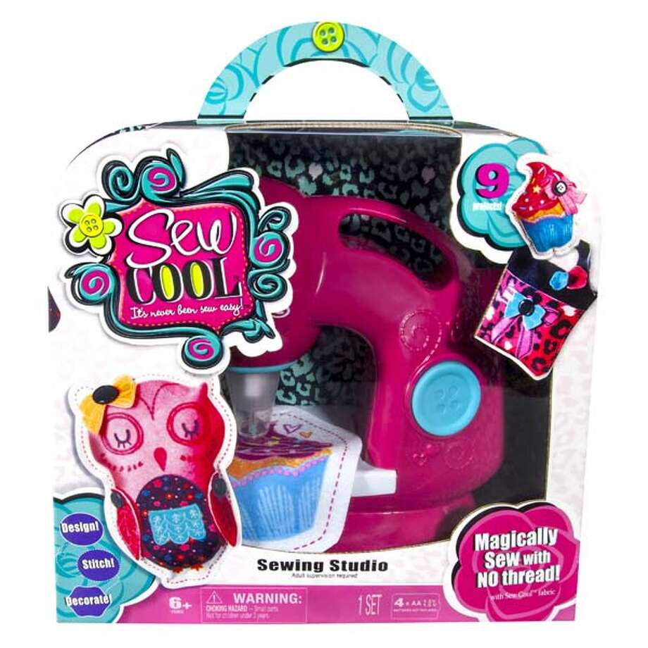 Spin Master Sew Cool Sewing Machine$34.97 Photo: Walmart