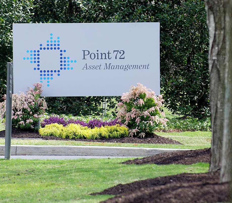 The sign for Point72 Asset Management, formerly SAC Capital Advisors,  is stationed outside the company's Stamford, Conn., office on Friday, April 11, 2014. Photo: Lindsay Perry / Stamford Advocate