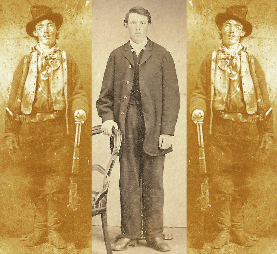 "Is this Billy the Kid?On the left and right are mirror images of a rare Tintype image of famed Western outlaw William ""Billy the Kid"" Bonney. In the center is an image New Mexico resident Ray John de Aragon and Houston Police forensic artist Lois Gibson also says may be the larger-than-life gunslinger.See the science and judge for yourself ... Photo: Ray John De Aragon Lois Gibson"