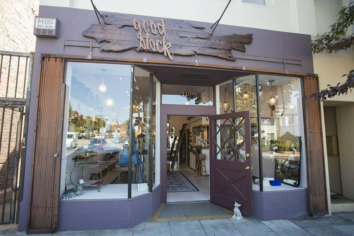 The exterior view of Good Stock is seen in Oakland, Calif. on Friday, Sept. 12, 2014.
