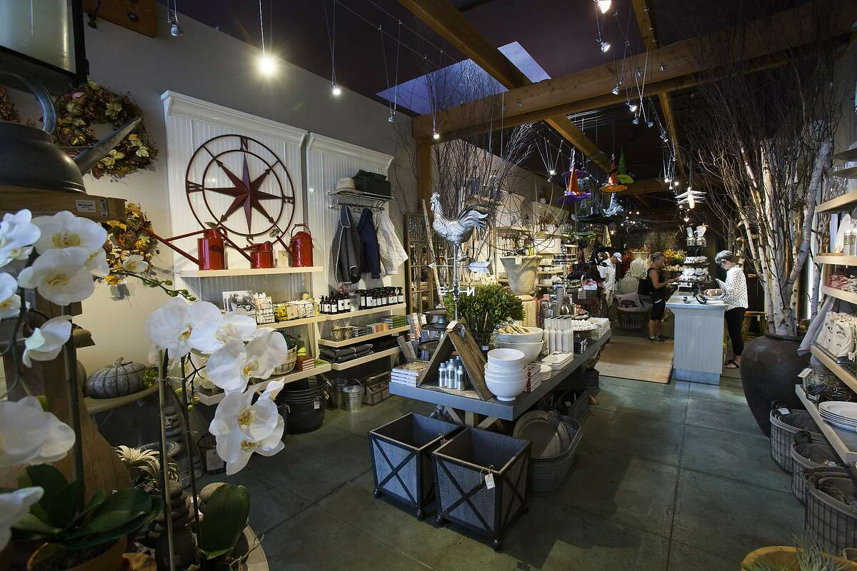 An interior view of Acres Home & Garden in St. Helena, Calif. on Thursday, Sept. 11, 2014.