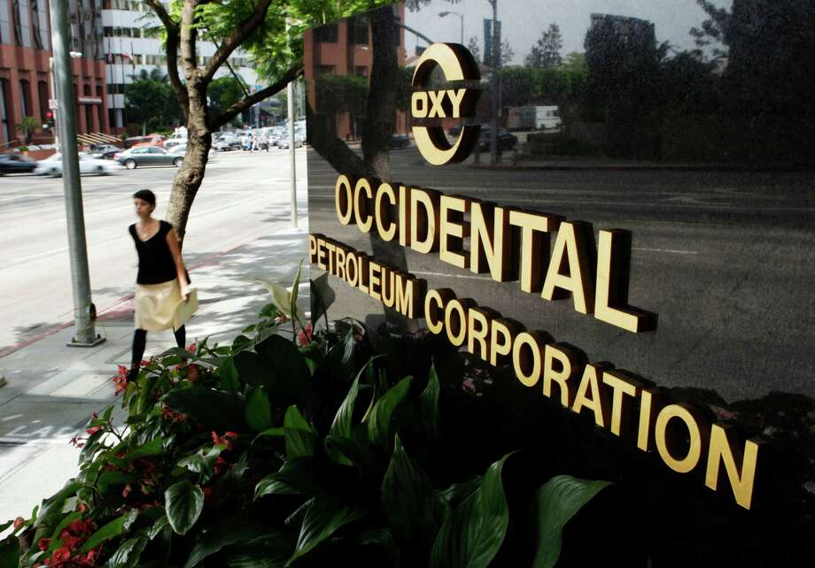 Occidental Petroleum Corp. is headquartered in Houston. Photo: Kevork Djansezian, STF / AP