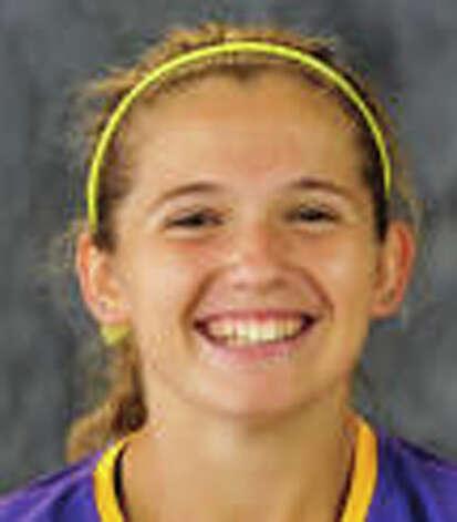 UAlbany field hockey player Anna Bottino from Clifton Park.