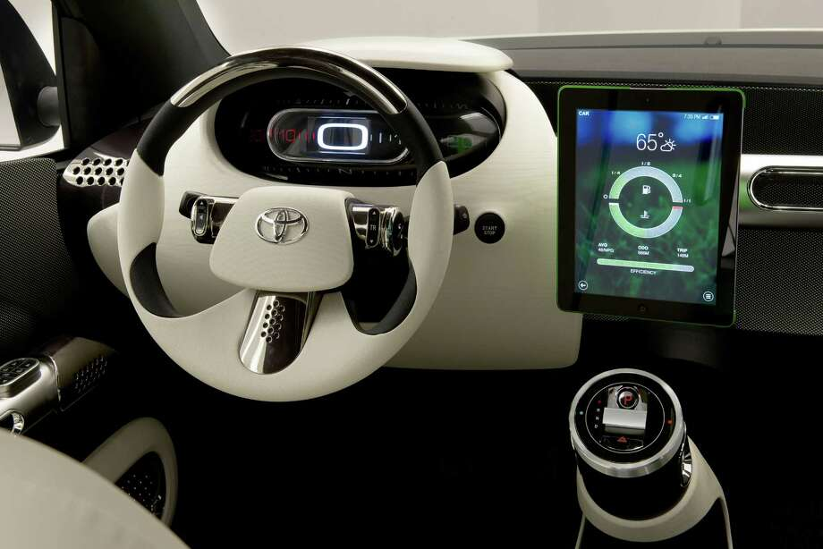 Toyota unveiled its concept car Urban Utility, or U^2, Sept. 10, 2014, that offers a look into the future of technology for the next generation of automobiles and consumers. Photo: Courtesy, Toyota