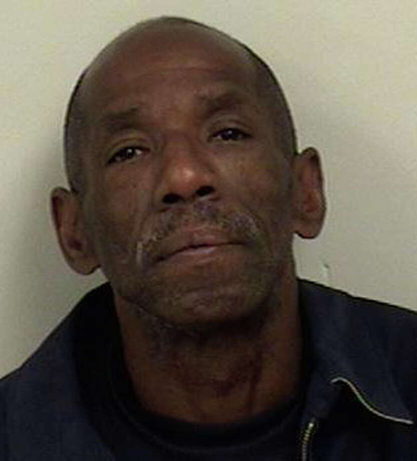William Mimms, 54, Stamford, was charged with fifth-degree larceny for stealing a drive shaft from a car at a Westport garage in June, police said. Photo: Westport Police Department / Westport News