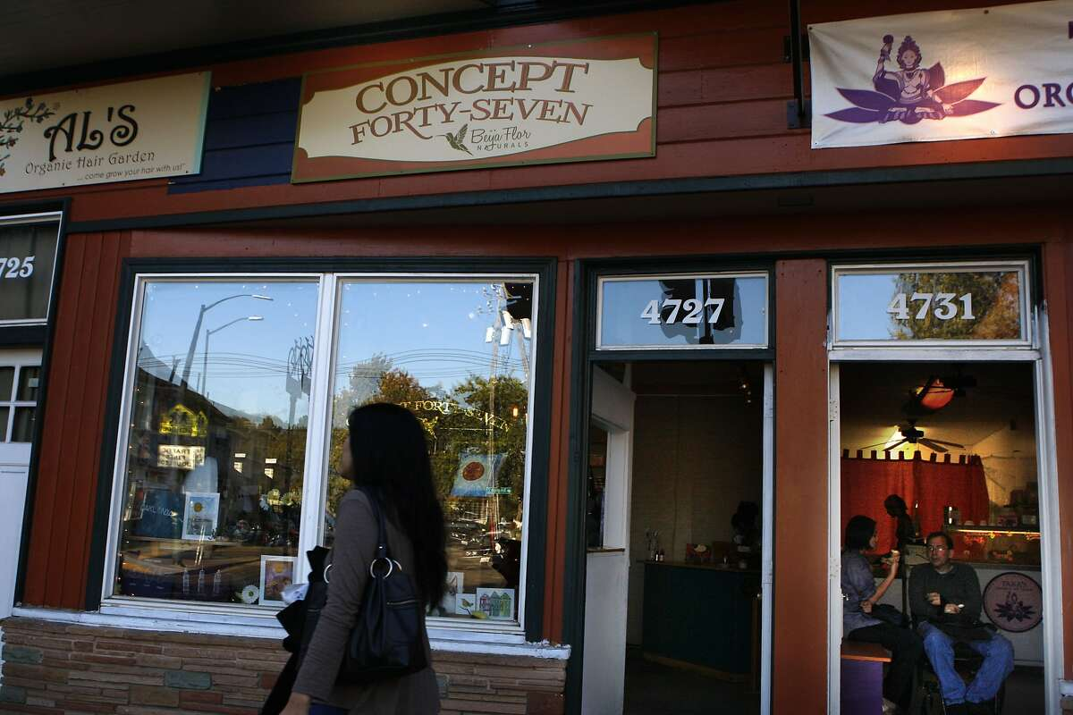 A view of the outside of Concept 47 in Oakland, Calif., on Monday, September 8, 2014.