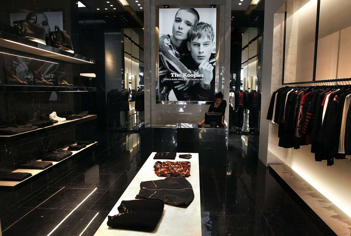 A view of the Kooples showroom in San Francisco, Calif., on Thursday, September 4, 2014.
