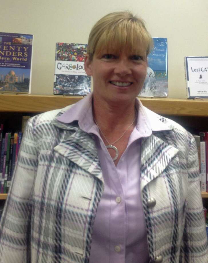 Barbara Alenckis is the new school resource officer for Region 12. Photo: Susan Tuz/Staff Photo / News-Times staff