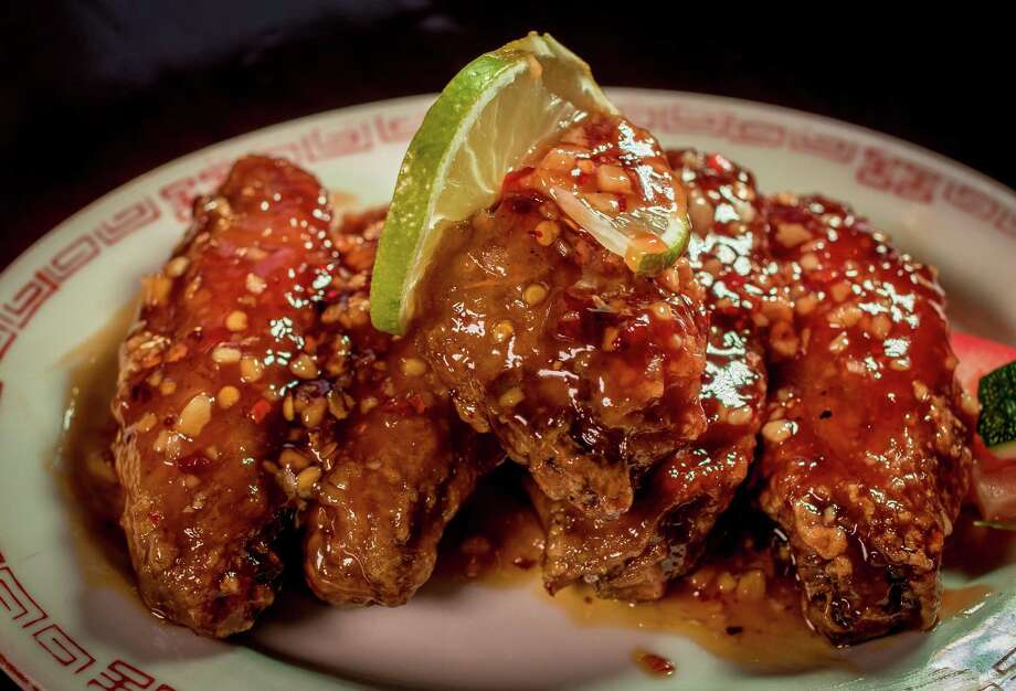 The Chinese buffalo wings at Gungho Tavern in San Francisco. Photo: John Storey, FRE / Special To The Chronicle / ONLINE_YES