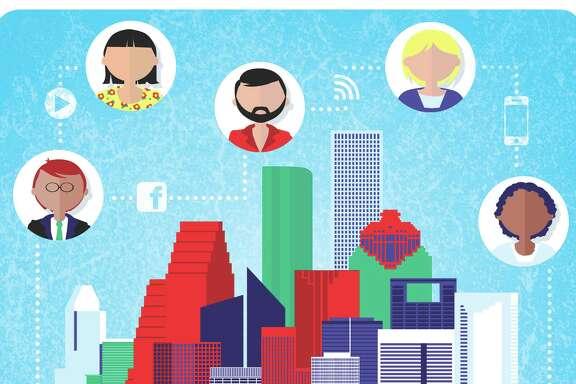 Robert Wuensche illustration / Houston Chronicle Online dating