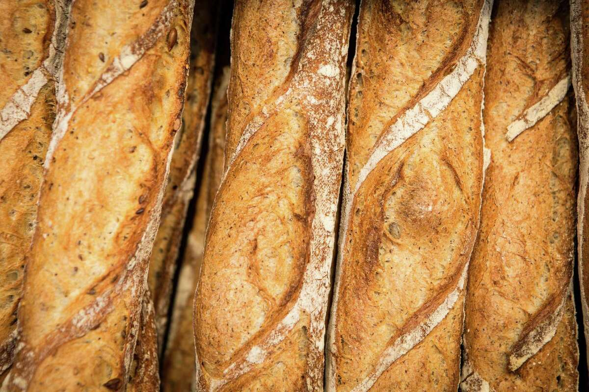 Common Bond Cafe & Bakery: Buckwheat baguettes