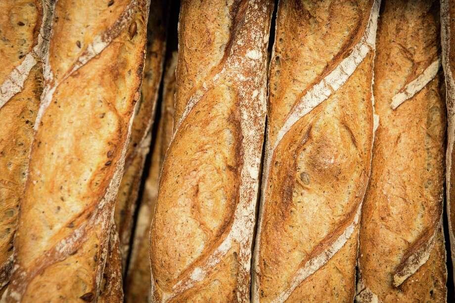 Common Bond Cafe & Bakery: Buckwheat baguettes Photo: Nick De La Torre / © de la Torre Photos LLC
