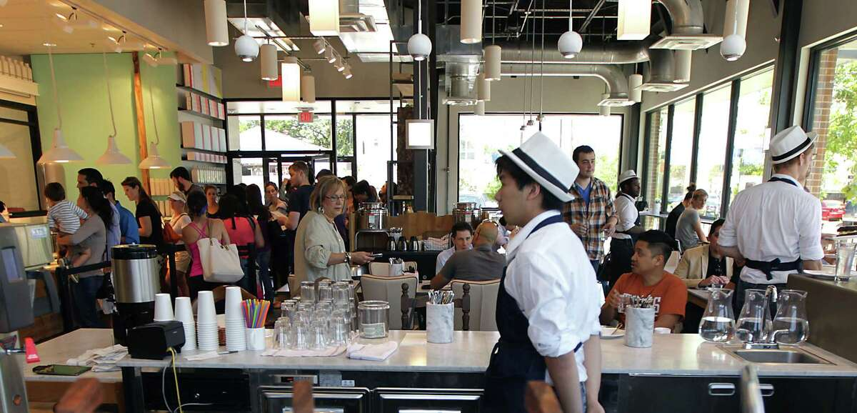 Crowded dining areas speak to Common Bond Cafe & Bakery's well-deserved popularity.