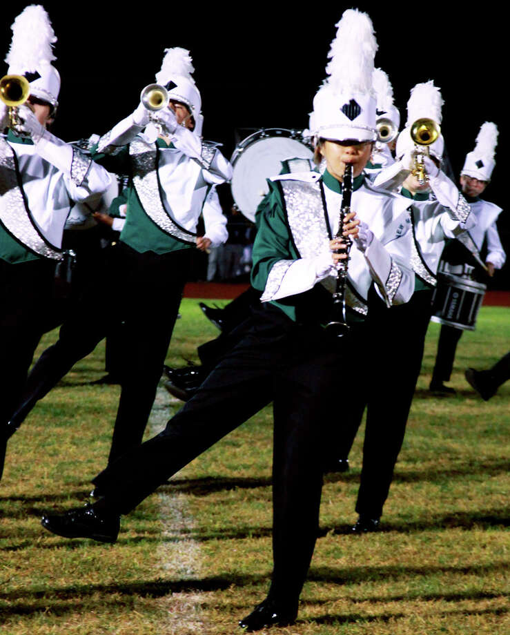 The New Milford High School marching band and color guards will co-host an upcoming invitational competition at the high school. September 2014  Courtesy of New Milford High School Photo: Contributed Photo / The News-Times Contributed