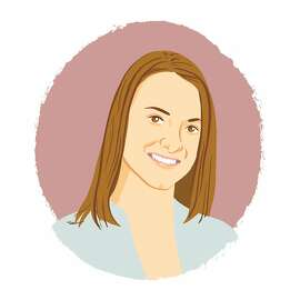 Illustrated portrait of Melissa Ferst