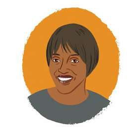 Illustrated portrait of Kim Mitchell Stokes