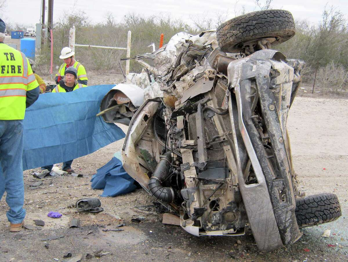 The number of crashes that kill three or more victims has risen sharply in Texas as the state's oil and gas industry booms. Take a closer look at the deadliest highways in Texas with the following photos.