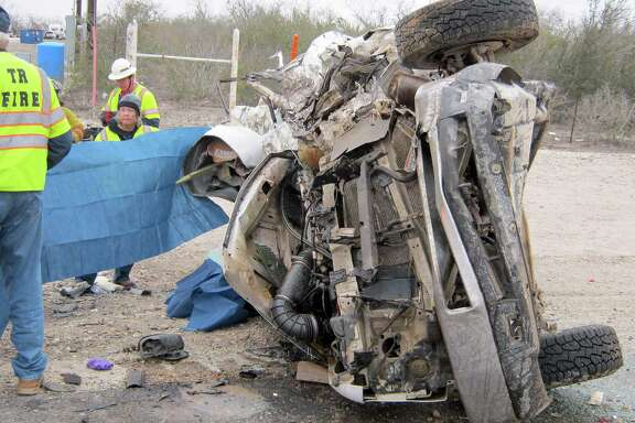 Three fracking crew workers for Compass Well Services LLC. died after the company van they were riding in struck a school bus, which had stopped to retrieve a student on rural State Highway 72 in January 2014.