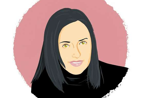 Illustrated portrait of Kelly Crispen