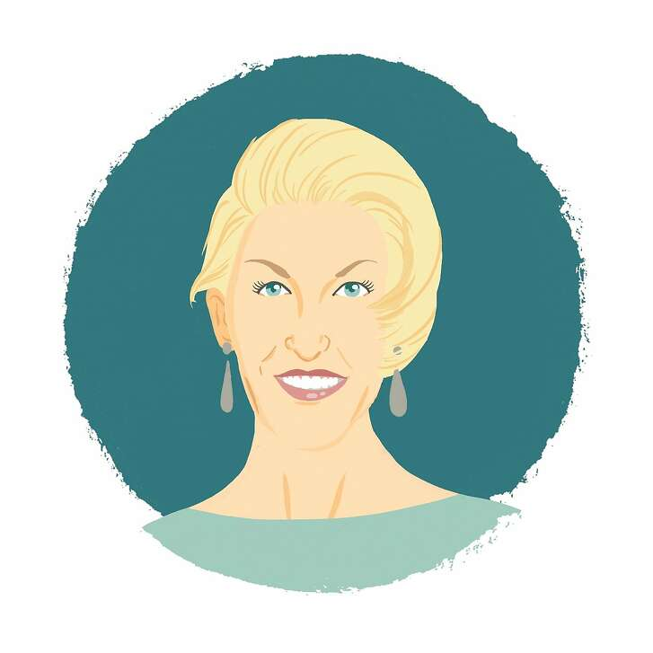 Illustrated portrait of Karen Caldwell