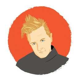Illustrated portrait of Keanan Duffty