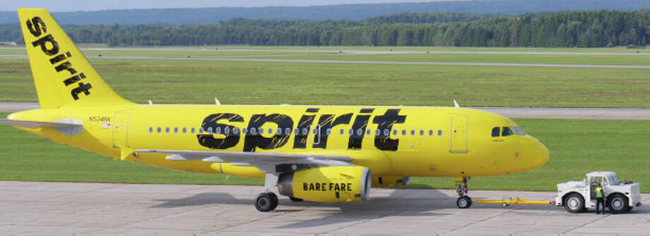 Spirit Airlines plans to more than double its service out of Sea-Tac, with four new daily nonstop destinations starting in April. Keep clicking to see airline paint jobs over the years. Photo: Spirit Airlines