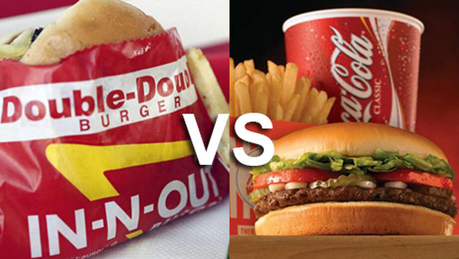 Now that In-N-Out has opened a handful of San Antonio stores, we pit the Texas favorite against the California chain to see which comes out on top. Click through the gallery to see if you agree with the results.