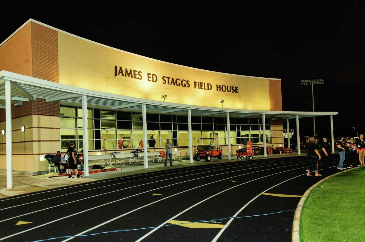 James Ed Staggs Field House is in Texas City.