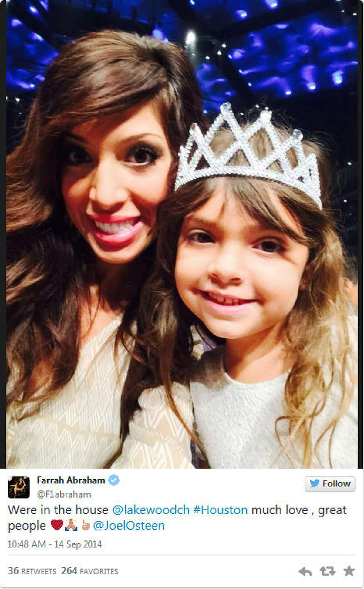 Former MTV's 'Teen Mom' star-turned-stripper Farrah Abraham