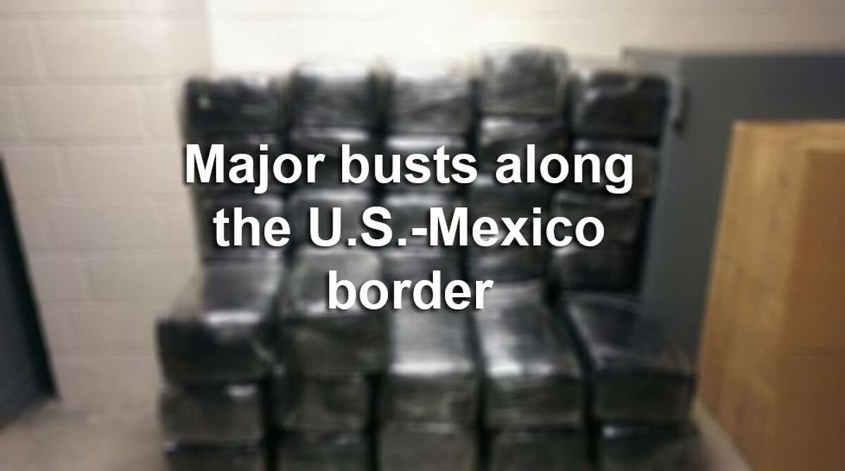 Click through the gallery to see some of the largest drug busts made by U.S. Customs and Border Protection throughout this year. Source: U.S. Customs and Border Protection
