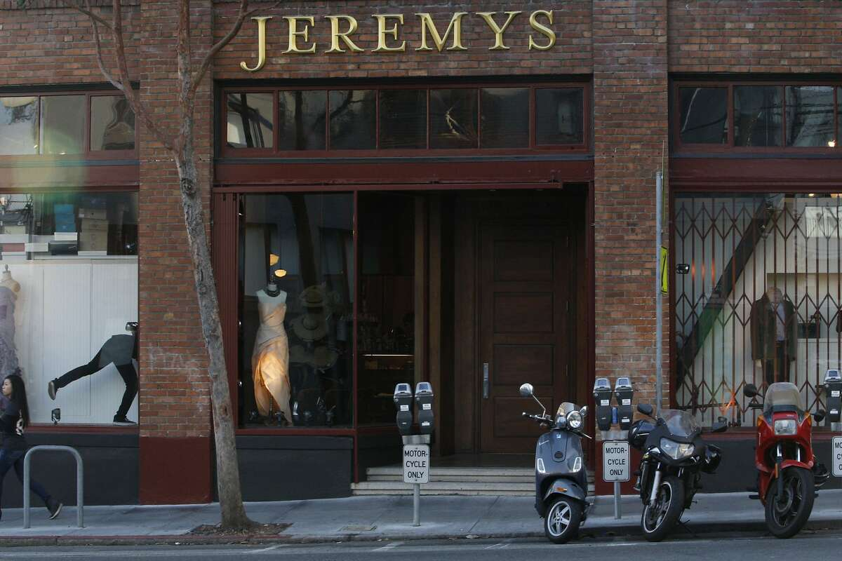 A view of the front of Jeremy's in San Francisco, Calif., on Tuesday, September 9, 2014.
