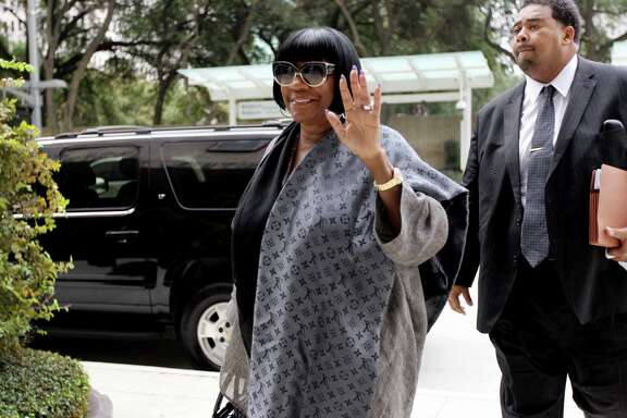 Legendary R&B diva Patti LaBelle arrives at the US Federal Courthouse for jury selection Tuesday, Sept. 16, 2014, in Houston, Texas. LaBelle is in court over a multimillion-dollar lawsuit against herself and others over a fight between her bodyguards and Richard King, a West Point cadet.