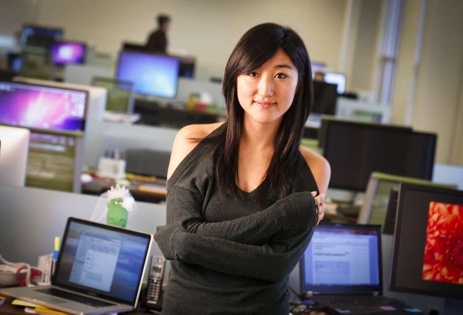 FILE - Jess Lee, co-founder of Polyvore, is seen in their Mountain View, Calif., office on Friday, Oct. 21, 2011. Photo: Russell Yip, The Chronicle