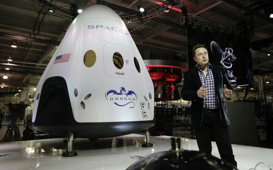 SpaceX, headed by Elon Musk, was selected with Boeing to take U.S. astronauts to the International Space Station. Photo: Associated Press File Photo / AP