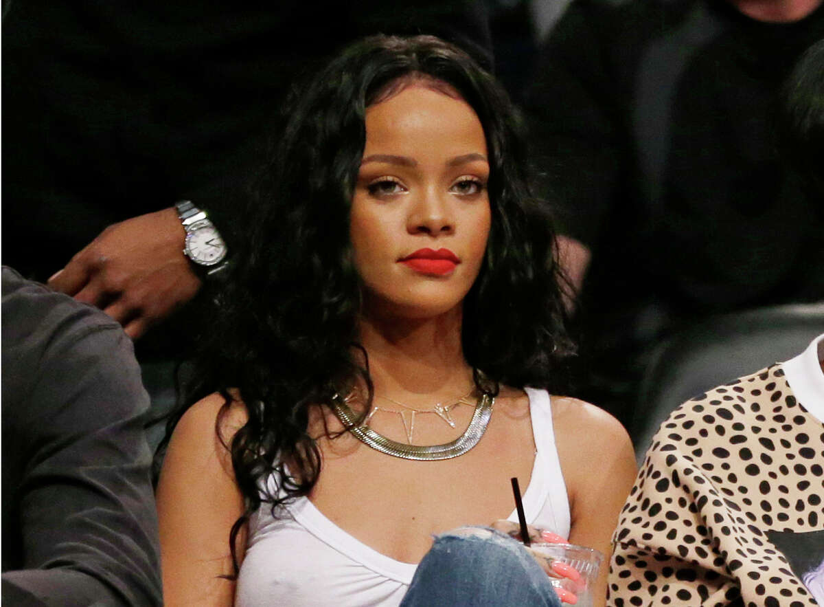 """3. Rihanna The pop star's song 'Run This Town' was yanked from an NFL broadcast after the network says it decided to """"move in a different direction."""" TMZ reports that this is in light of the Ray Rice domestic abuse allegations, since the song would have played during a game by his old team. As you know, Rihanna was a victim of domestic violence after an altercation between her and rapper Chris Brown in 2009. Rihanna then fired back on Twitter, using some locker-room language of her own."""